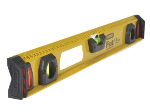 Stanley Tools FatMax I Beam Level 3 Vial 120cm