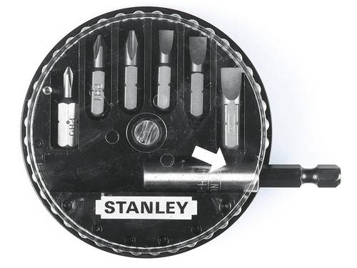 Stanley Tools Insert Bit Set Phillips/Slotted 7 Piece