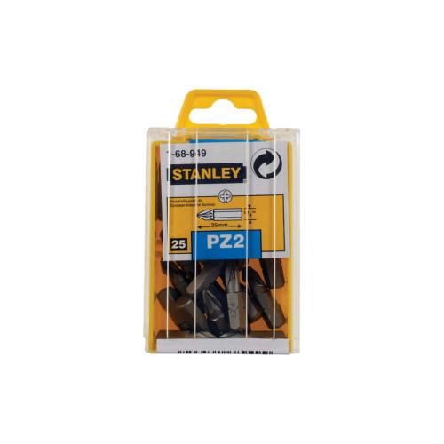 Stanley Tools STA168949B Pozidriv 2pt Bit 25mm (Box of 25)