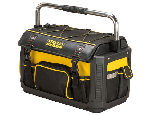 Stanley Tools FatMax Plastic Fabric Open Tote with Cover 50cm (20in)| Toolden