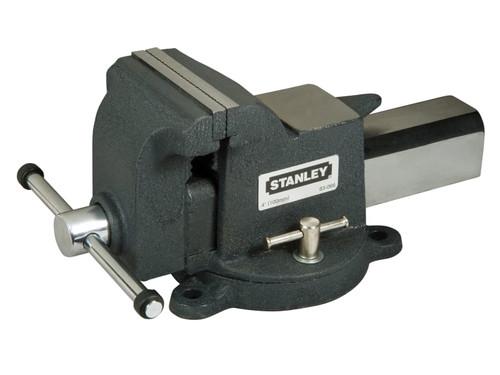 Stanley Tools MaxSteel Heavy-Duty Bench Vice 125mm  | Toolden