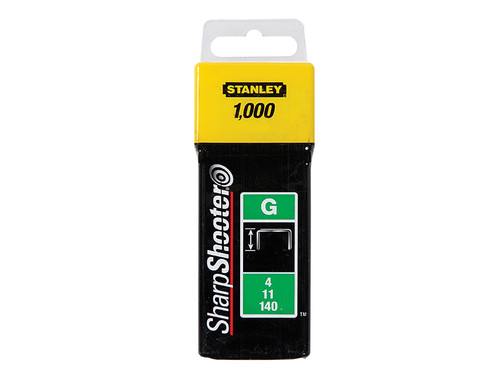 Stanley Tools TRA7 Heavy-Duty Staple 8mm TRA705T Pack 1000