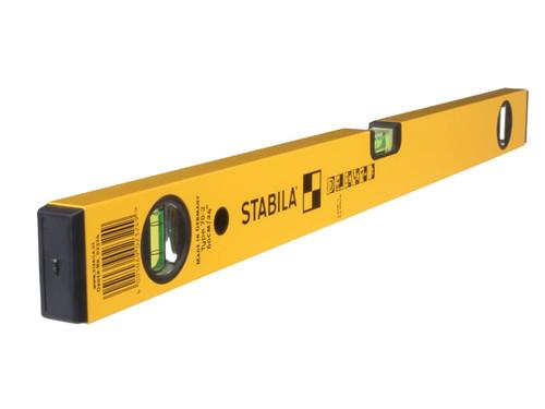 Stabila 70-2-80 Double Plumb Spirit Level 3 Vial 80cm | Toolden