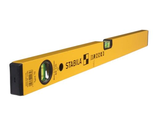 Stabila 70-80 Single Plumb Spirit Level 2 Vial 80cm | Toolden