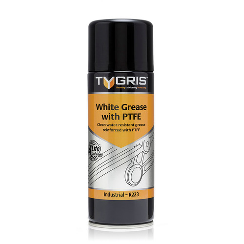 Tygris White Grease with PTFE 400ml from Toolden.