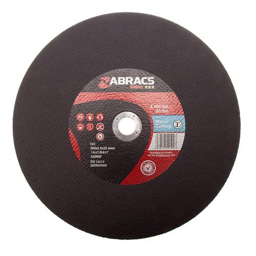 Abracs Proflex  Flat Metal Discs 350mm X 2.8mm X 25mm
