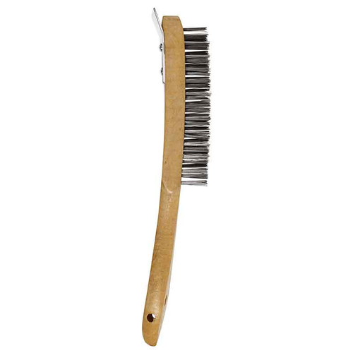 Abracs ABWHBSCR 4 Row Brush with Metal Scraper