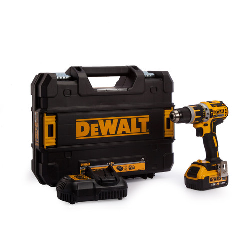 Dewalt DCD795M1 Combi Drill 18V XR Brushless Compact Lithium-Ion 1 X 4.0Ah Battery from Toolden