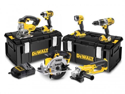 DeWalt DCK692M3 Cordless 3 Speed 6 Piece Kit 18 Volt 3 x 4.0Ah Li-Ion   Toolden