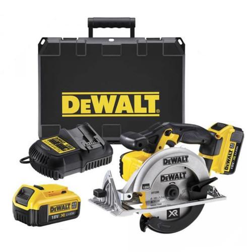 DeWalt DCS391M2 165mm XR Premium Circular Saw 18 Volt 2 x 4.0Ah Li-Ion from Toolden