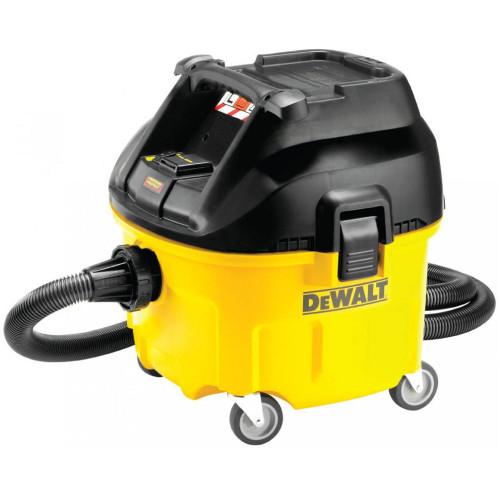 DeWalt DWV901L Wet & Dry Dust Extractor 30 Litre 1400 Watt 110 Volt from Toolden