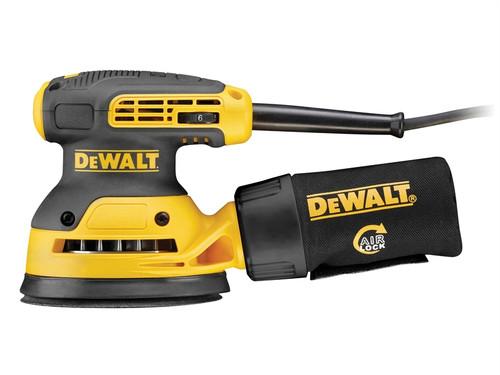 DeWalt DWE6423 125mm Random Orbit Sander 280 Watt 240 Volt