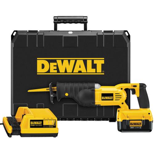 DeWalt DC305M2 Cordless Reciprocating Saw & Kit Box 36 Volt 2 x 4.0Ah Li-Ion   Toolden