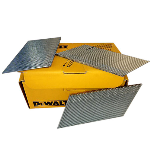 DeWalt DT9912QZ 16 Gauge Angled Stainless Steel Nails 44mm x 2500 from Toolden