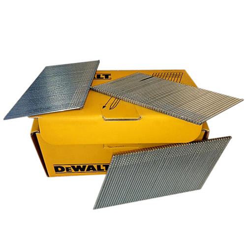 DeWalt DEWDT9912QZ 16 Gauge Angled Stainless Steel Nails 44mm x 2500 from Toolden