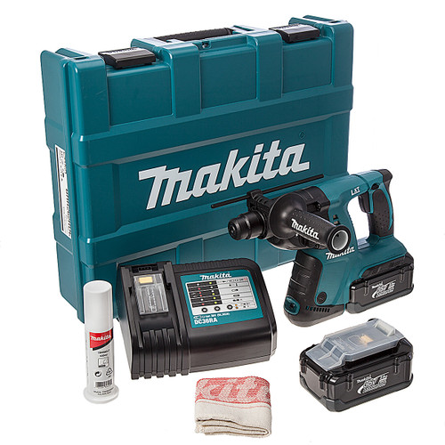 Makita BHR262RDE 36v LXT Rotary Hammer from Toolden