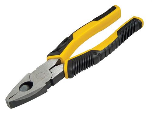 Stanley Controlgrip Combination Plier 180mm  Toolden