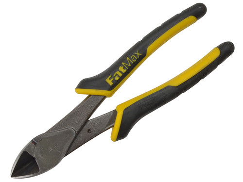 Stanley Fatmax Angled Diagonal Cuttting Pliers 200mm  Toolden