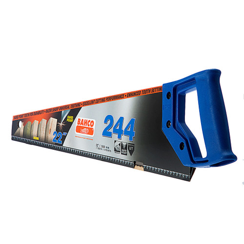 Bahco 244 Blue Handsaw (Twin Pack) from Toolden