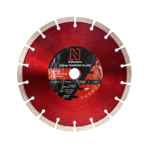 N-Durance General Purpose Diamond Blade - 230 x 10mm x 22.2mm