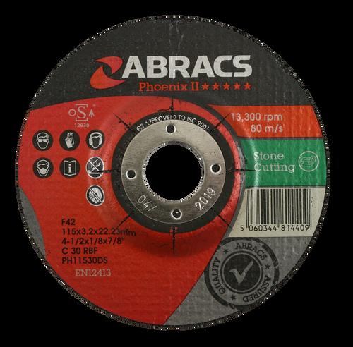 Abracs Phoenix II Stone Grinding Disc 100mm x 6mm x 16mm