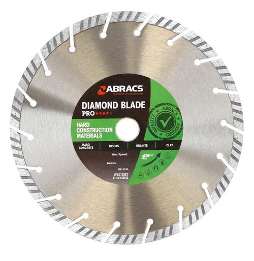 Abracs ABDT115H Pro Hard Construction Diamond Blade 115mm