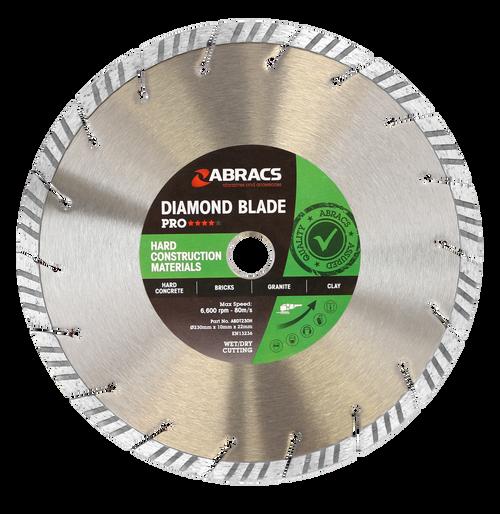 Abracs ABDT230M Pro Hard Construction Diamond Blade 230mm
