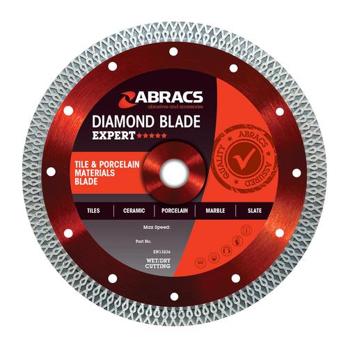 Abracs ABDCR180 Tile & Porcelain Diamond Blade 180mm