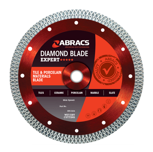 Abracs ABDCR230 Tile & Porcelain Diamond Blade 230mm