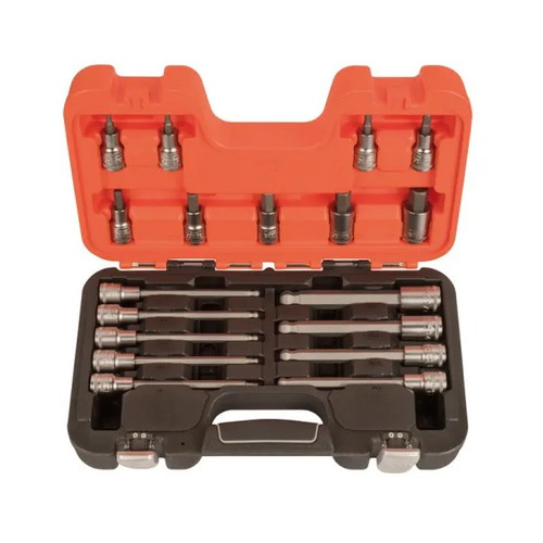 Bahco S18HEX 1/2 inch Hex Socket Set of 18 (BAHS18HEX)