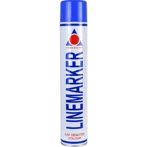 Aerosol Solution 0904 Line Marking Spray Paint Blue 750ml