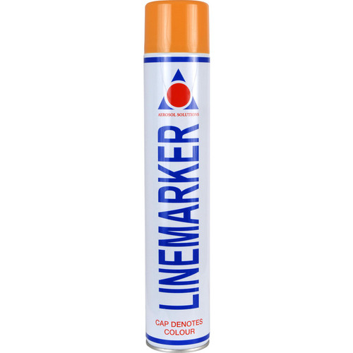 Aerosol Solution 0905 Line Marking Spray Paint Orange 750ml