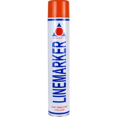Aerosol Solution 0902 Line Marking Spray Paint Red 750ml