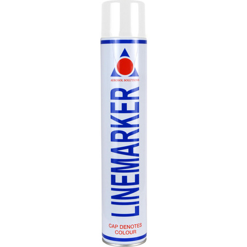Aerosol Solution 0901 Line Marking Spray Paint White 750ml