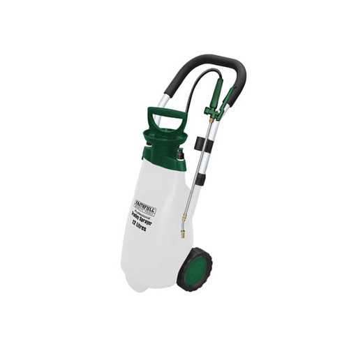 Faithfull Professional Trolley Sprayer with Viton® Seals 12L (FAISPRAY12HD)| Toolden