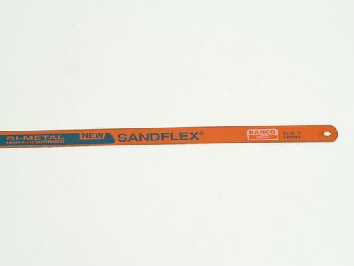 Bahco BAH39061224 3906 Sandflex Hacksaw Blades 300mm (12in) x 24tpi Pack 100 | Toolden