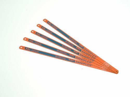 Bahco BAH3906245P 3906 Sandflex Hacksaw Blades 300mm (12in) x 24tpi Pack 5 | Toolden