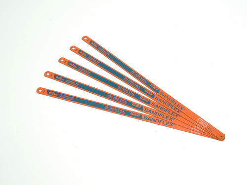 Bahco BAH3906245P 3906 Sandflex Hacksaw Blades 300mm (12in) x 24tpi Pack 5   Toolden