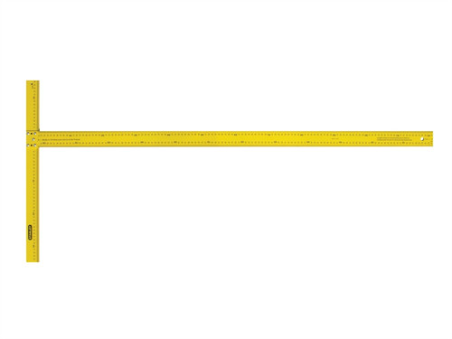Stanley STA105894 Drywall T-Square Metric 1220mm (4ft) | Toolden