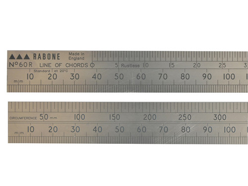 Stanley STA135333 60R Line of Chords Rule 60cm | Toolden