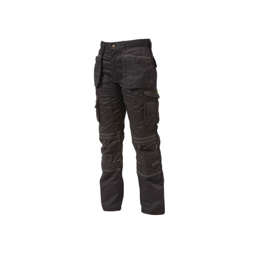 Apache APAHTB2934 Black Holster Trousers Waist 34in Leg 29in  | Toolden