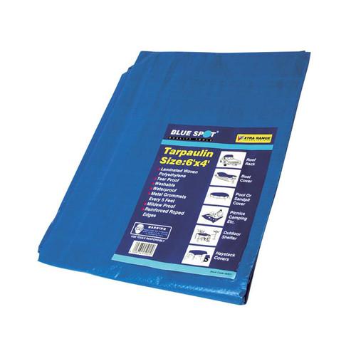 BlueSpot Tools B/S45921 Tarpaulin 1.8 x 1.2m (6 x 4ft)    Toolden