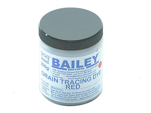 Bailey BAI3590 3590 Drain Tracing Dye - Red | Toolden