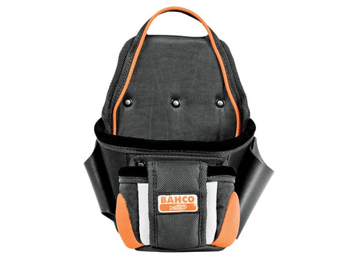 Bahco BAH2PP 4750-2PP-1 Two Pocket Fixings Pouch | Toolden