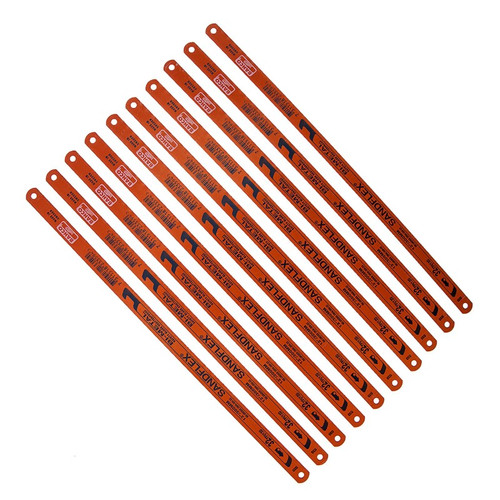 bahco BAH39063210P 3906 Sandflex Hacksaw Blades 300mm (12in) x 32tpi Pack 10