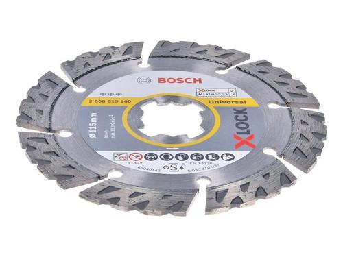 Bosch BSH615160 X-LOCK Best Universal Diamond Disc 115 x 2.2 x 22.23mm | Toolden