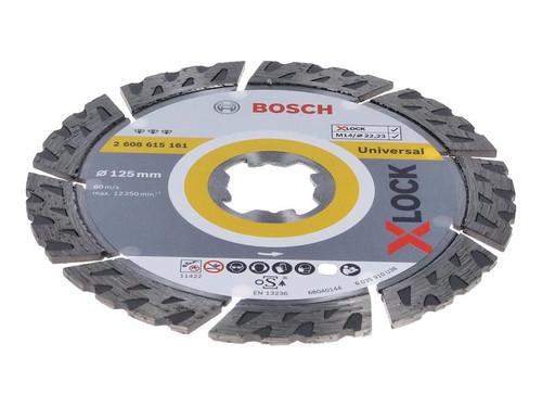 Bosch BSH615161 X-LOCK Best Universal Diamond Disc 125 x 2.2 x 22.23mm | Toolden