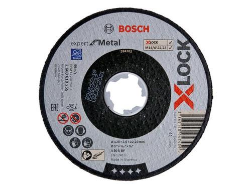 Bosch BSH619255 X-LOCK Expert for Metal Cutting Disc 125 x 2.5 x 22.23mm | Toolden