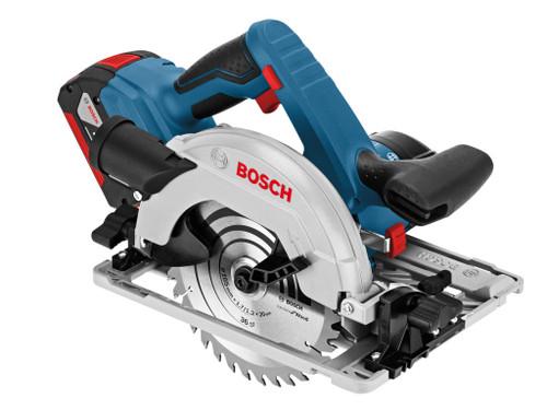 Bosch BSHGKS18V57 GKS 18 V-57 G 165mm Circular Saw 18V 2 x 5.0Ah Li-ion | Toolden