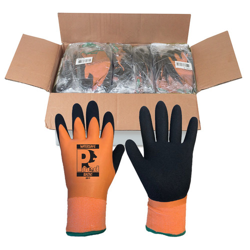 Baltic Waterproof Thermal latex Gloves Size 10  (XL) Box of 120 Prs
